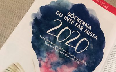 """""""Böckerna som alla kommer tala om 2020"""""""